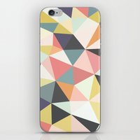 Deco Tris iPhone & iPod Skin