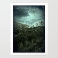 Dream Scape 5_Series Art Print