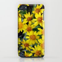iPod Touch Cases featuring Yellow by Climbing Mountains Art