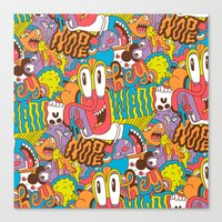 Hey Wait Canvas Print