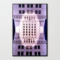 Landscapes c15 (35mm Double Exposure) Canvas Print
