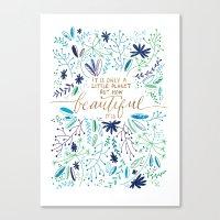 Beautiful Planet Canvas Print