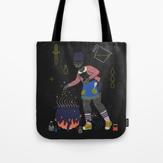 Witch Series: Cauldron Tote Bag