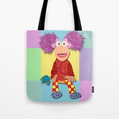 red fraggle Tote Bag