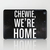 Chewie, We're Home iPad Case