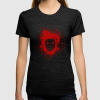 Dexter Womens Fitted Tee Tri-Black SMALL