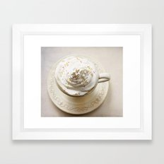 Sweet treat Framed Art Print