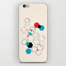 Bumble bees iPhone & iPod Skin