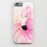 iPhone & iPod Case featuring FLAMINGO by Monika Strigel