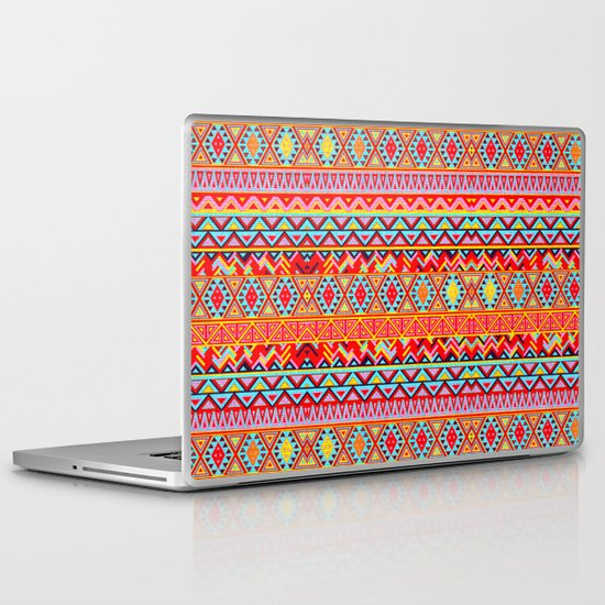 India Style Pattern (Multicolor) Laptop & iPad Skin