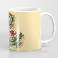 Celtic Dragon Letter C Mug