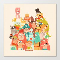 Storybook Gang Canvas Print