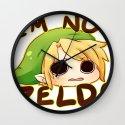 Link is not Zelda Wall Clock