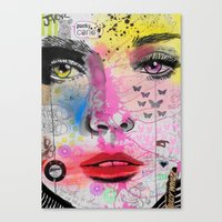 Candy Punk Canvas Print