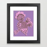 enzyme Framed Art Print