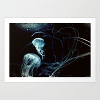 underwater secrets Art Print