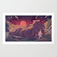 Surroundings Art Print