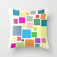 Squared Throw Pillow
