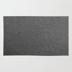 Black Stone Texture Rug