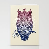 Warbird (Great-horned Ow… Stationery Cards