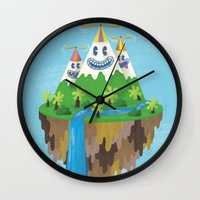 Flight of the Wild Wall Clock