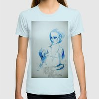 Pills... Womens Fitted Tee Light Blue SMALL