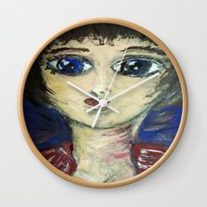 THE GIRL WHO PROTECTED OTHERS FROM TRENT Wall Clock