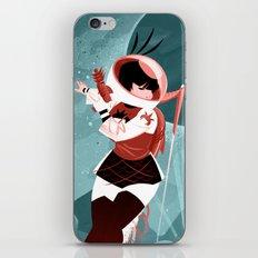 Kickass Annie iPhone & iPod Skin
