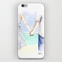 Katie & Tom iPhone & iPod Skin