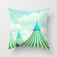 circus tent 2 Throw Pillow