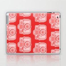 I Still Shoot Film Holga Logo - Reversed Red Laptop & iPad Skin