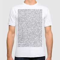 1000 Imaginary Friends A… Mens Fitted Tee Ash Grey SMALL