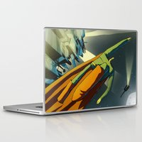superman Laptop & iPad Skins featuring Superman by Peerro