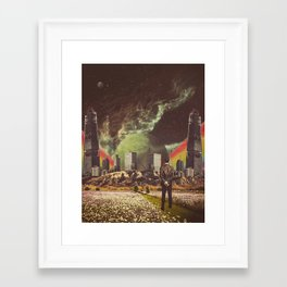 Framed Art Print - Brave New Worlds - TRASH RIOT