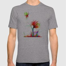Cool Sketch 21 Mens Fitted Tee Athletic Grey SMALL