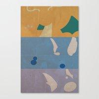 Dratini, Dragonair, Dragonite Canvas Print
