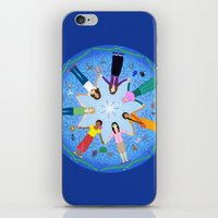 Plea for Peace iPhone & iPod Skin
