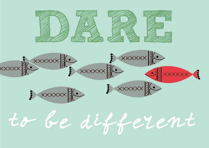 Scandinavian design fish print Art Print by Patruschka ...