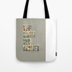 Soul Sister | Soul Brother - illustrations - Cover Tote Bag