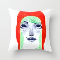 Arange Throw Pillow