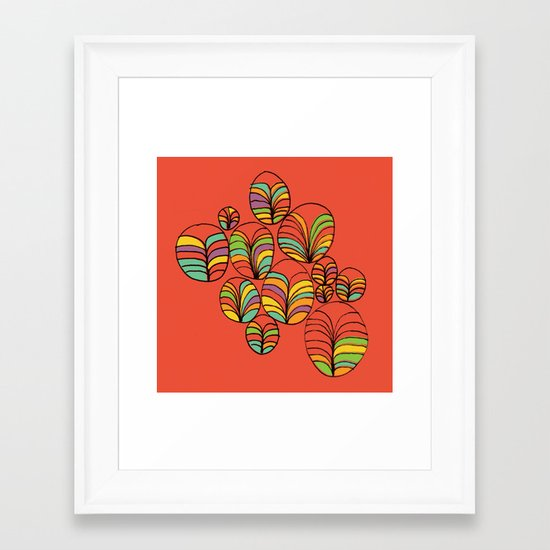 Garden Bay Framed Art Print