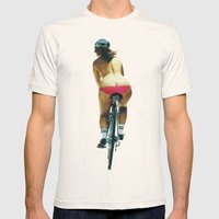 Fat Bottomed Girls Mens Fitted Tee Natural SMALL