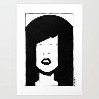 My China Girl Art Print