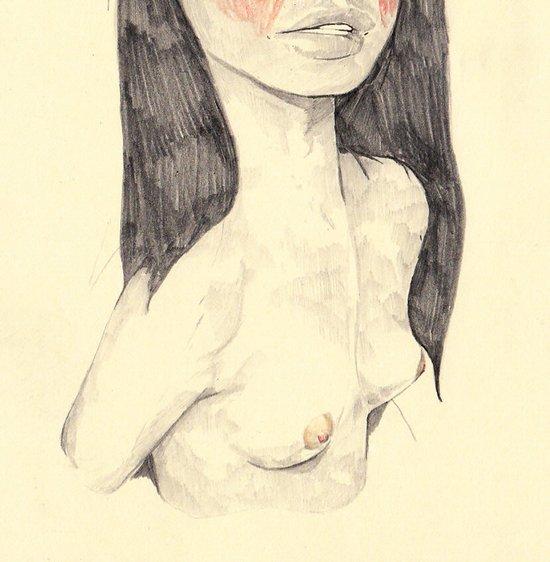 breasts Art Print