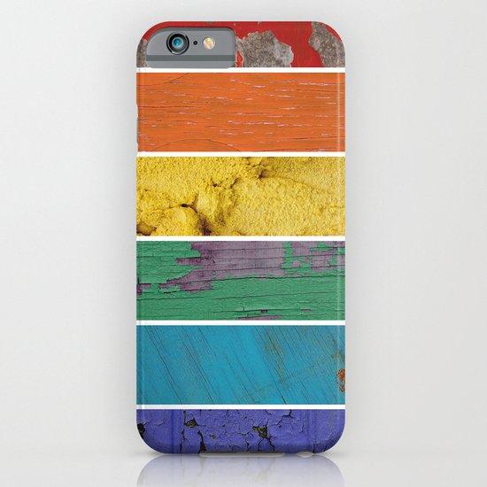 texture rainbow iPhone & iPod Case