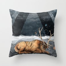 The Unsleeping Dream Throw Pillow