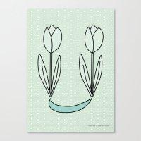 Tulips 03 Canvas Print