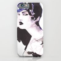 iPhone & iPod Case featuring Hairstyle by Ioana Avram