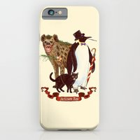 iPhone & iPod Case featuring At the Arkham Zoo by Ivan Guerrero