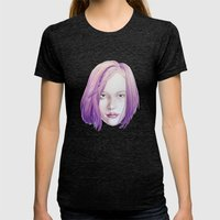 Lilas Womens Fitted Tee Tri-Black SMALL